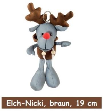 Elch Nicki, Reflextier Elch