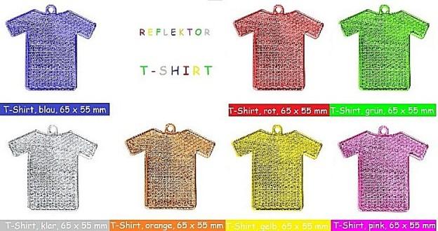 Fußgängerreflektor, Reflektor T-shirt
