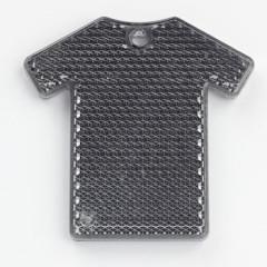 Sicherheitsreflektor Tshirt, Reflektor schwarz