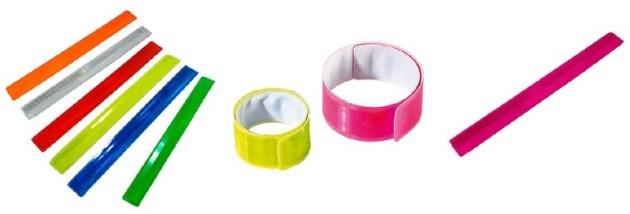 Snap Armbänder, reflektierende Armbänder